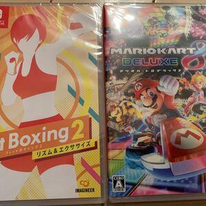 マリオカート8デラックス Fit Boxing2 Nintendo Switch パッケージ版 2本セット