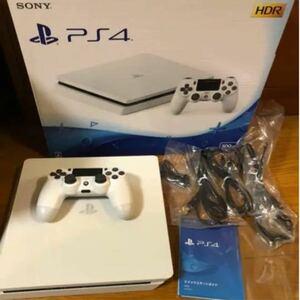 PS4本体 PlayStation4 グレイシャー CUH-2200AB02 WHITE SONY