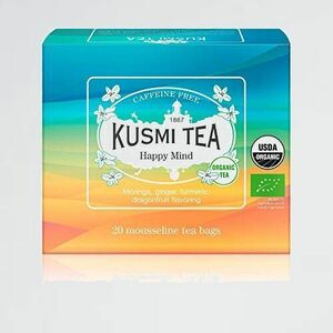 好評 新品 TEA KUSMI H-96 ハ-ブティ- [正規輸入品] クスミティ- ハッピ-マインド 2.0g x 20ティ-バック(個包装なし) オ-ガニック