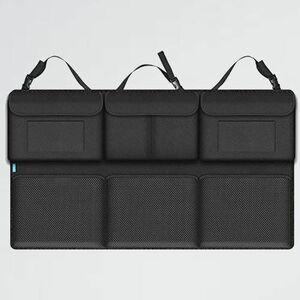 未使用 新品 車収納 Smof 7-ZR 収納 メッシュポケット104x49cm 大容量 省スペ-ス トランク 収納 ト シ-トバックポケット 省スペ-ス