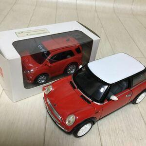 まとめて ダイハツ(非売品)プルバックカー BG go 赤 クーパー 赤白