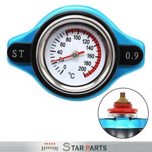 水温計付き ラジエーターキャップ 0.9k タイプB [ブルー/青色] ミラ/MIRA L502S L500V L512S L510V 1994/09-1998/10 JB-JL JB-EL