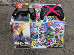 Switch本体 ソフト コントローラー セット