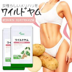 【リプサ公式】 ワイルドヤム 約3か月分×2袋 C-236-2 サプリメント サプリ 健康食品 美容 送料無料