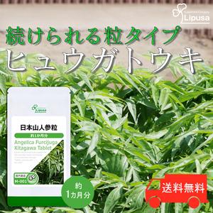 【リプサ公式】 日本山人参粒 約1か月分 M-001 サプリメント サプリ 健康食品 送料無料