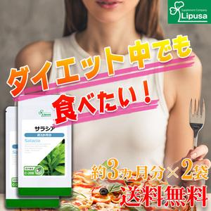 【リプサ公式】 サラシア 約3か月分×2袋 C-208-2 サプリメント サプリ 健康食品 ダイエット 送料無料