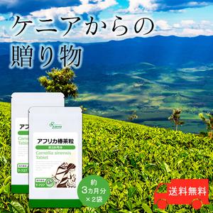 【リプサ公式】 アフリカ椿茶粒 約3か月分×2袋 T-727-2 サプリメント サプリ 健康食品 送料無料