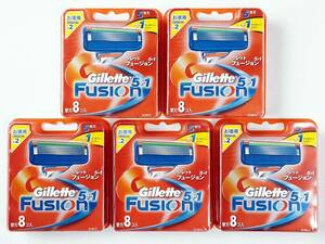 新品 Gillette ジレット FUSION5+1 フュージョン5+1 替刃 合計40個