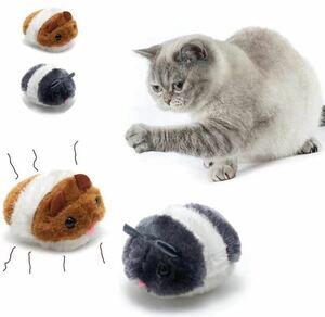 猫おもちゃ ぬいぐるみ ペットおもちゃ 【2個セット】ハムスター 可愛い ネズミおもちゃ ペット運動不足解消