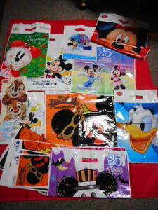 東京ディズニーランド シー ディズニーリゾート ショップ・ストア袋 お土産袋 20枚