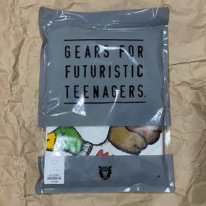【新品未使用】HUMANMADE KAWS XLサイズ ダック カモ Tシャツ 鴨 ホワイト NIGO LOUIS VUITTON