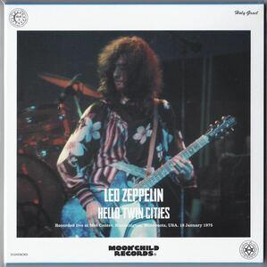 Moonchild Records 2CD Led Zeppelin Hello Twin Cities★レッド・ツェッペリン