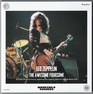 Moonchild Records 3CD Led Zeppelin The Awesome Foursome★レッド・ツェッペリン