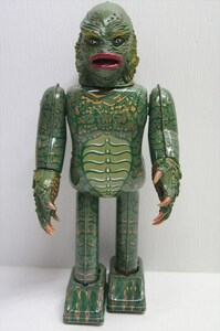 ROBOTHOUSE THE CREATURE FROM THE BLACK LAGOON ブリキ ゼンマイ式 半魚人 ユニバーサルモンスターズ ハロウィン 日本製 雑貨