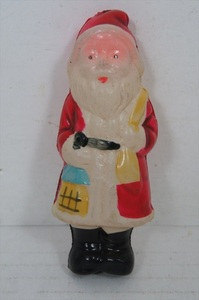[珍品]セルロイド サンタクロース 昭和レトロ 当時物 日本製 サンタ Santa Claus ビンテージ 人形 雑貨
