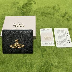 Vivienne Westwood ヴィヴィアンウエストウッド パスケース ブラック