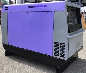 中古 PDW300SLE ディーゼル エンジン 溶接機 北越工業 AIRMAN エンジンウエルダー エアマン 整備済 塗装済