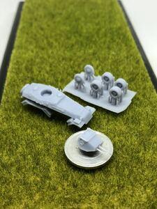 1/144レジンキット 未組立 未塗装 WWⅡ ドイツ軍  6輪装甲車 Sd.Kfz.231 装輪装甲車 ワールドタンク ミュージアム 【同梱可能】