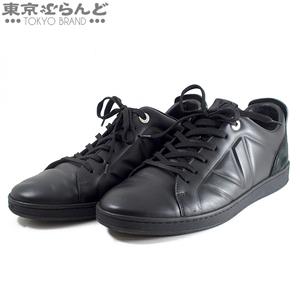 101542051 ルイヴィトン LOUIS VUITTON メンズ フロントロー・ライン レザー ローカットスニーカー 靴 #8 ブラック