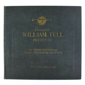 COLUMBIA RECORDS コロンビアレコード Rossini/ロッシーニ WILLIAM TELLーOVERTURE 2枚組 レコード【34203115】中古品
