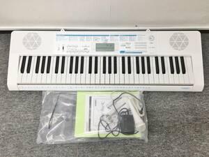 CASIO カシオ 光ナビゲーションキーボード LK-311 2018年製 電子ピアノ 電子キーボード 61鍵盤 ホワイト 箱付き 動作確認済
