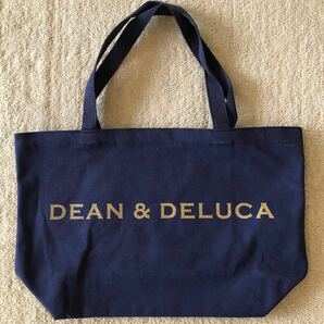 dean&deluca トートバッグ ネイビー Lサイズ
