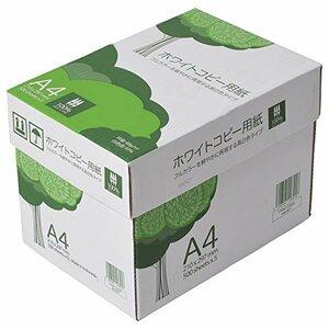 売筋 APP 高白色 ホワイトコピー用紙 A4 白色度93% 紙厚0.09mm 2500枚(500枚×5冊) PEFC認証