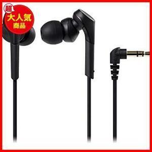 新品ブラック audio-technica SOLID BASS カナル型イヤホン 重低音 ハイレゾ音源対応 ブラッRJ5D