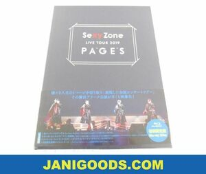 Sexy Zone Blu-ray LIVE TOUR 2019 PAGES 初回限定盤 未開封 【新品 同梱可】ジャニグッズ