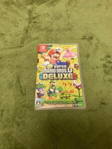 NewスーパーマリオブラザーズU デラックス Nintendo Switch DELUXE Switch 動作確認済