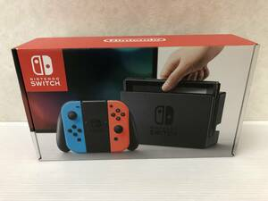 Nintendo Switch 本体 (ニンテンドースイッチ) 【Joy-Con (L) ネオンブルー/ (R) ネオンレッド】 中古品 syghsw037908