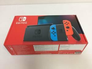 Nintendo Switch 本体 (ニンテンドースイッチ) Joy-Con(L) ネオンブルー/(R) ネオンレッド 中古品 syghsw038188