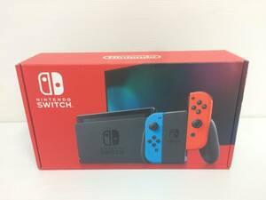 Nintendo Switch 本体 (ニンテンドースイッチ) Joy-Con(L) ネオンブルー/(R) ネオンレッド 中古品 syghsw037929
