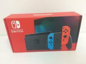 Nintendo Switch 本体 (ニンテンドースイッチ) Joy-Con(L) ネオンブルー/(R) ネオンレッド 中古品 syghsw037931