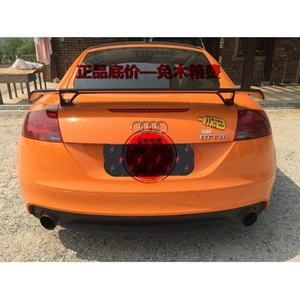 炭素繊維ユニバーサルスタイルリアトランクスポイラーウイング用アウディ A3 S3 A4 A5 A6 A7 TT ウイングスポイラー