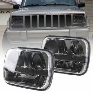 車検対応LEDヘッドライトランクルプラドハイラックスサーフN60 130 N50 N110 N140 RZN147 LN170 LN172 AE86 AE92 AW11 SW20 角型 角目 C859