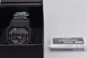 Casio [カシオ] 腕時計 ジーショック 電波ソーラー GW-M5610BC-1JF ブラック 展示品(美品)メーカー保証書あり