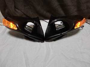 postage included! out of print rare FD3S RX-7 Ganador door mirror LED Super Mirrors blue lens