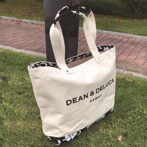 DEAN&DELUCA ディーンデルカ ハイビスカス ハワイ限定 トートバッグ