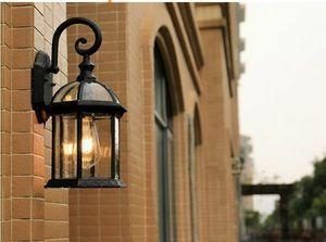 新品 LED対応 北欧 ウォールランプ レトロ風 ポーチライト E27 インテリア 【最安値!】壁掛け照明 アンティBZ46