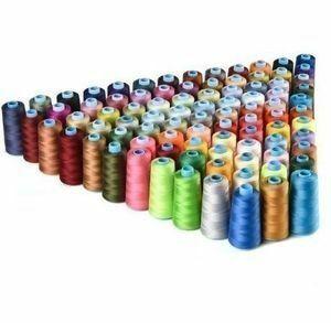 新品 30色ミックスカラー100%ポリエステルミシン糸 【お得】ハンドメイドに DIYに K33 OE74