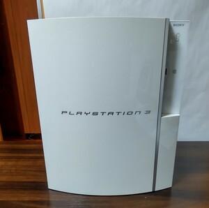 プレイステーション3 本体のみ 初期型 CECH-A00 ジャンク品 ホワイト