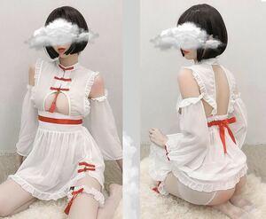 セクシーランジェリー セクシーコスプレ チャイナドレス チャイナ服風デザイン ロリータ ワンピース ロリ 可愛いアニメコスプレ衣装