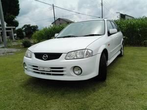 selling out rare Familia sport 20 4WD 5 speed land transportation arrangement Saitama Koshigaya ..
