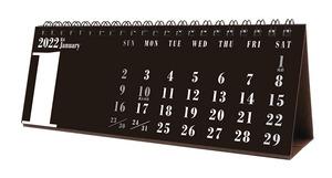 ■今年も18%OFF!『2022カレンダー 卓上 BLACKスリムスケジュール』■