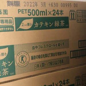 特定保健用食品 トクホ 伊藤園 カテキン緑茶 500ml x 24本 緑茶 お茶 飲料 ダイエット メタボ 対策 脂肪減らす