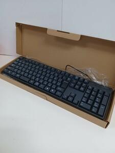 新品 有線 USBキーボード