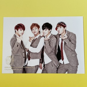 BTS 防弾少年団 ユニット (ジョングク テヒョン ジミン J-HOPE) 生写真 Japan Official Fan Meeting Vol.1 公式 フォトカード