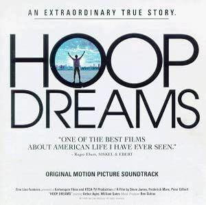Hoop Dreams/フープ・ドリームス-日本盤サウンドトラック CD 帯付き