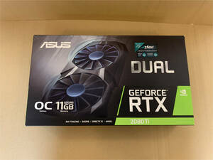ASUS GEFORCE RTX 2080ti Dual OC11GB グラフィックボード 美品